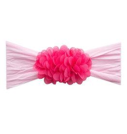 Baby Bling Bows 2-Tone Chiffon Ruffle: Pink