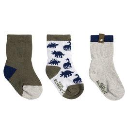Robeez 3 Pk Socks, Ramsey