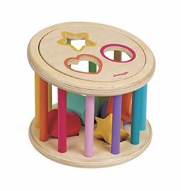Janod Shape Sorter Drum