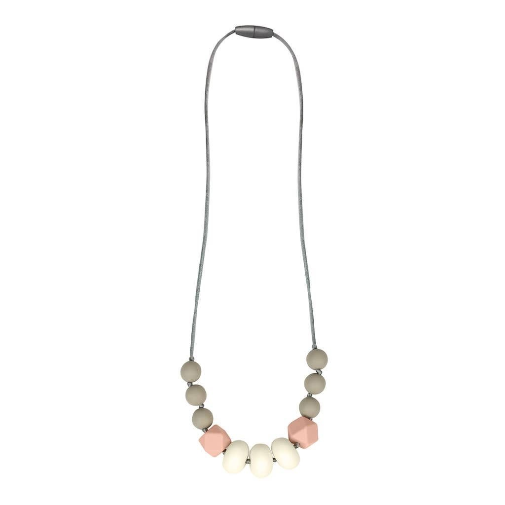 Itzy Ritzy Blush Teething Necklace