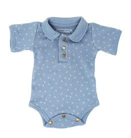 Loved Baby Polo Bodysuit Pool Dots