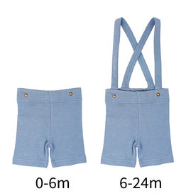 Loved Baby Suspender Shorts Pool
