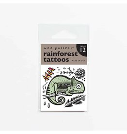 Wee Gallery Temporary Tattoos, Rain Forest