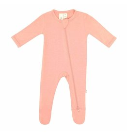 Kyte Baby Zippered Footie Terracotta