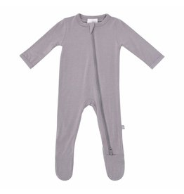 Kyte Baby Zippered Footie Clay