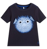 Joules Navy Puffer Fish Tee