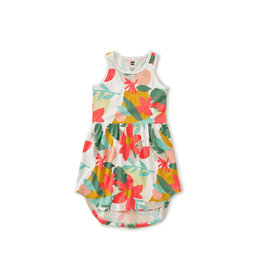Tea Collection Printed Skirted Tank Dress - Oasis Floral