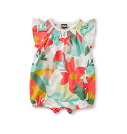 Tea Collection Smocked Romper Oasis Floral