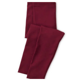 Tea Collection Girl Size 3 Solid Leggings - Boysenberry