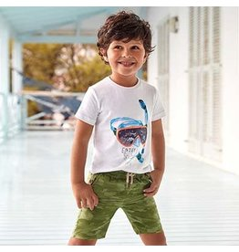 Mayoral Bermuda Boy Shorts - Sporty Jungle