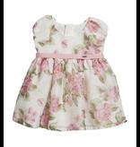 Mayoral Mayoral Dress Baby Girl - Roses Pink