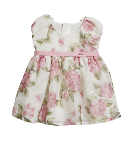 Mayoral Mayoral Dress Baby Girl - Roses Pink