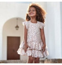 Mayoral Mayoral Dress for Girls - Ruffle Leopard