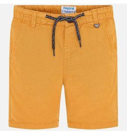 Mayoral Linen Shorts Boy - Pollen