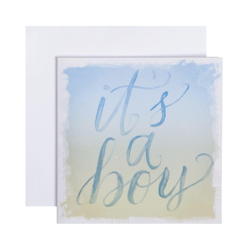 CR Gibson Gift Enclosure Card - It's a Boy