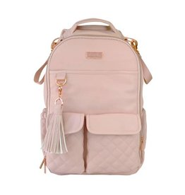 Itzy Ritzy Boss Diaper Bag Backpack Blush Crush