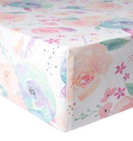 Copper Pearl Premium Crib Sheet Bloom