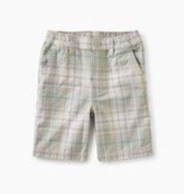 Tea Collection Plaid Travel Shorts - Tonkin Plaid  6