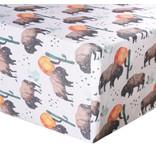 Copper Pearl Copper Pearl Premium Crib Sheet Bison