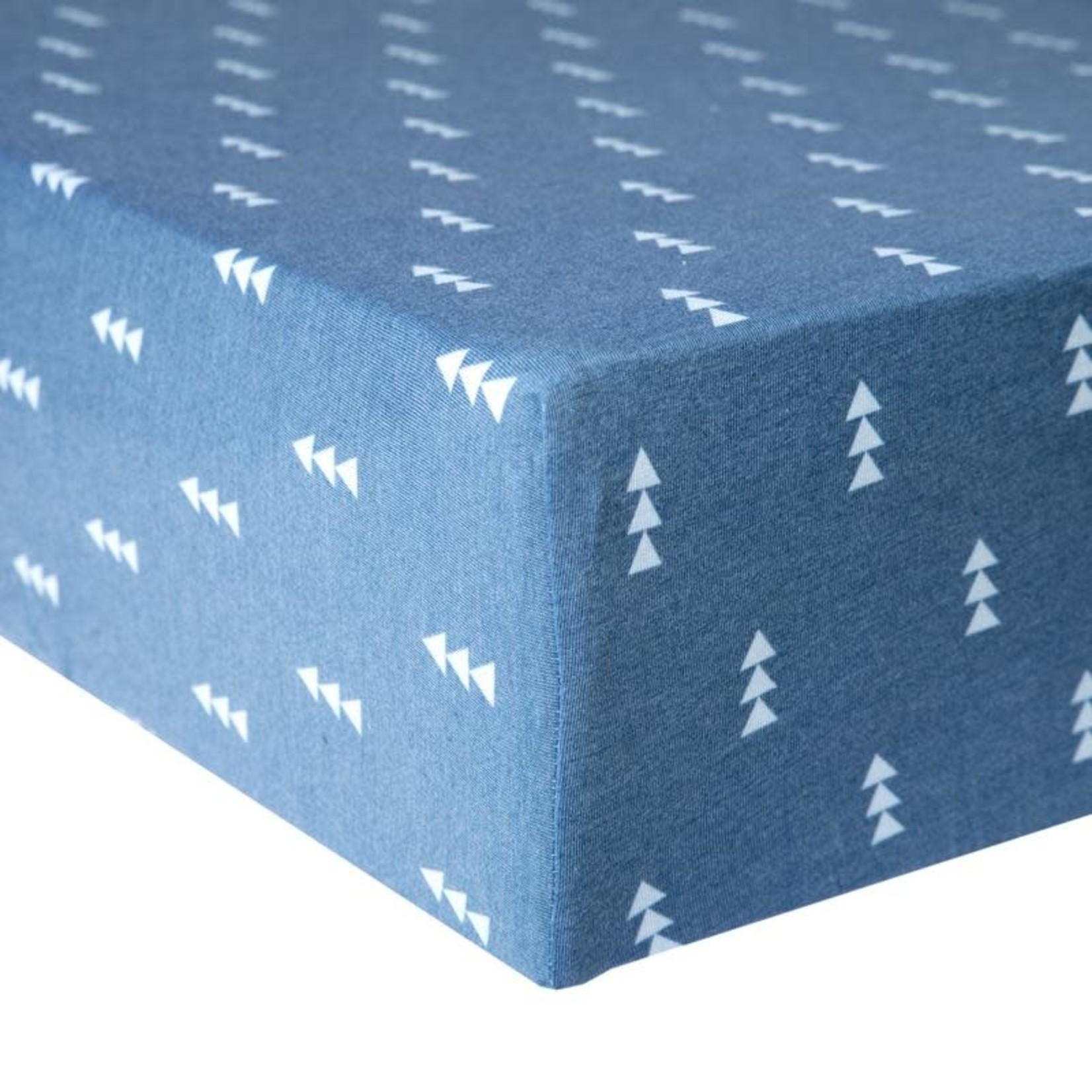 Copper Pearl Premium Crib Sheet North