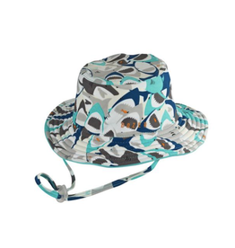 Millymook and Dozer Baby Boys Bucket Sun Hat - Chomp L (12-24m)