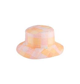 Millymook and Dozer Girls Ponytail Sun Hat - Clementine - Peach