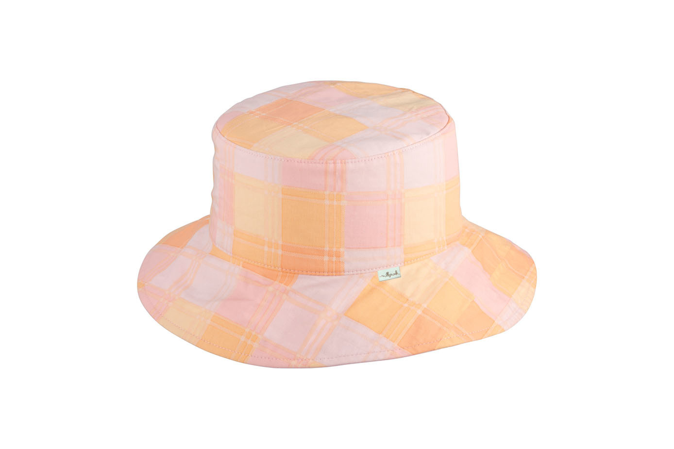 Millymook and Dozer Girls Ponytail Sun Hat - Clementine - Peach