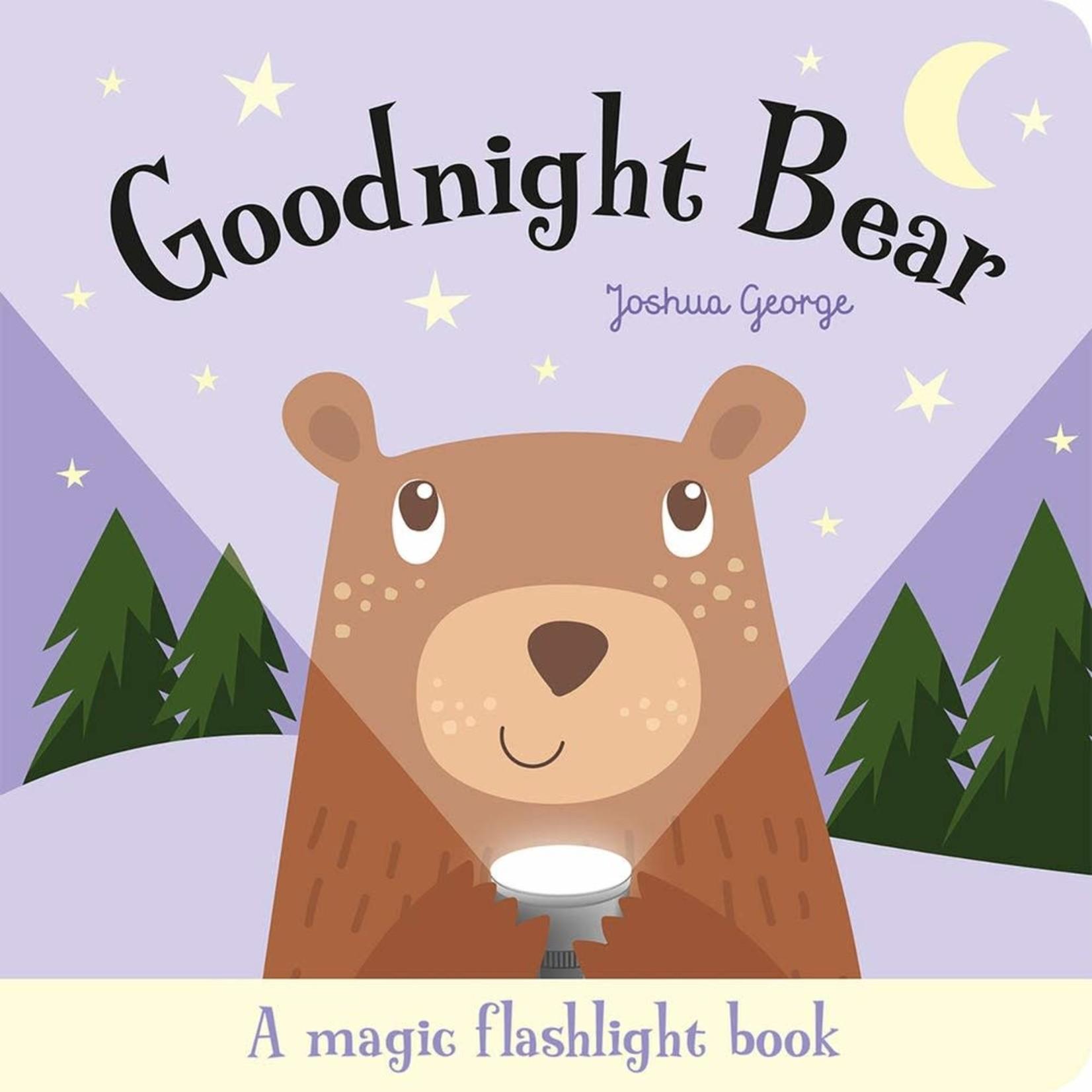 House of Marbles Goodnight Bear Magic Flashlight Book