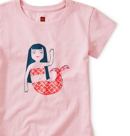 Tea Collection Mermaid Graphic Tee Lotus