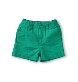 Tea Collection Travel Baby Shorts Green