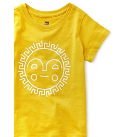 Tea Collection Sunshine Ahead Tee White Sun