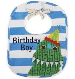 Mud Pie Birthday Dino Bib