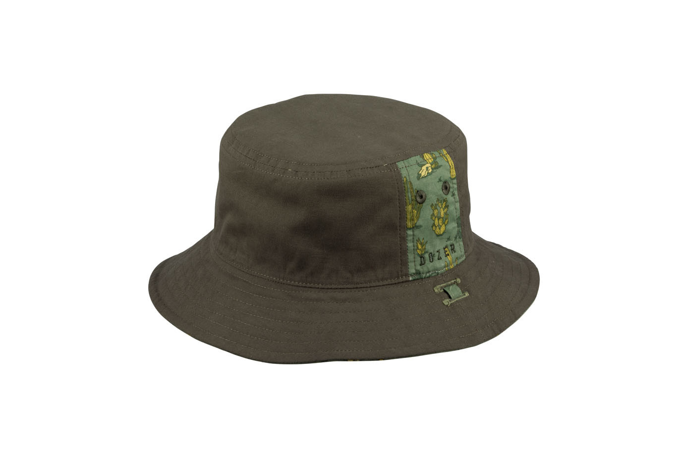 Millymook and Dozer Boys Bucket Sun Hat - Cacey - Olive S (2-5y)