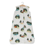 Little Unicorn Cotton Muslin Sleep Bag Small - Happy Camper
