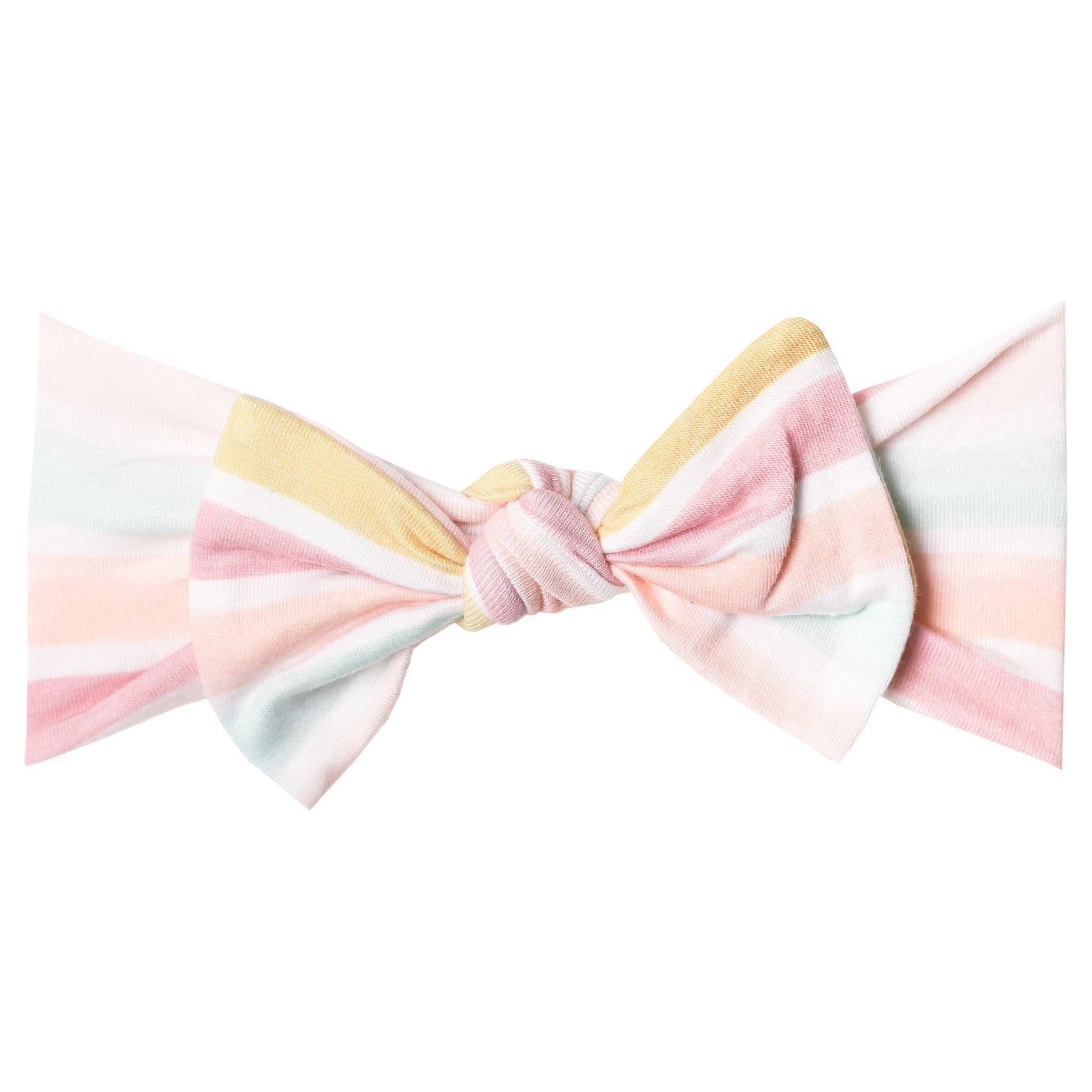 Copper Pearl Knit Headband - Belle