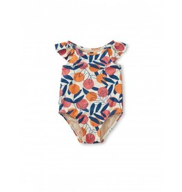 Tea Collection Flutter Baby One-Piece Swimsuit - Spring Citrus
