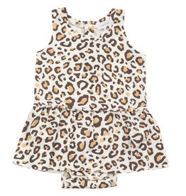 Angel Dear Bodysuit Skirted, Leopard
