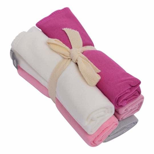 Kyte Baby Washcloth Bundle Girl Multi 5pk