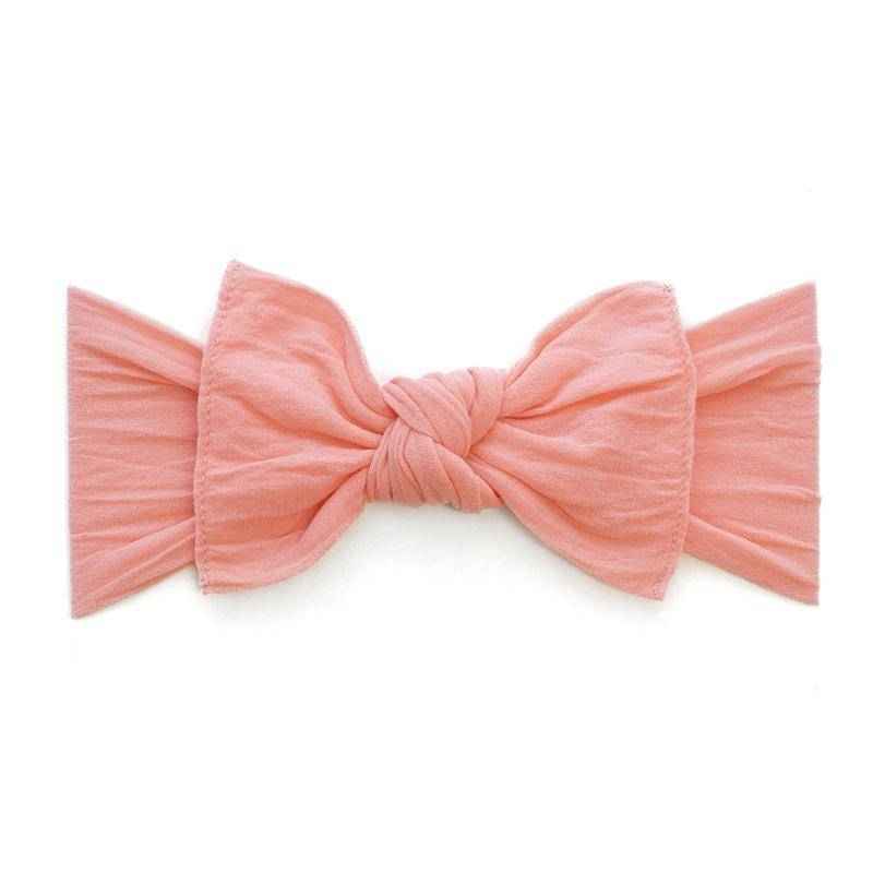 Baby Bling Bows Knot - Coral