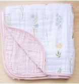 Saranoni Floral Fields Cotton Muslin 4-Layer Quilt