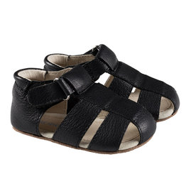Robeez Matthew First Kicks - Black Leather