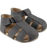 Robeez Matthew First Kicks - Slate Leather