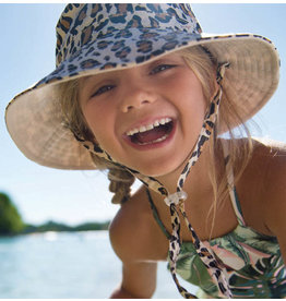 Millymook and Dozer Girls Floppy Sun Hat - Blaire - Natural S (2-5)