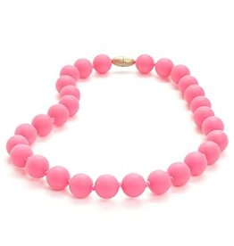 Chewbeads Jane Necklace - Punchy Pink