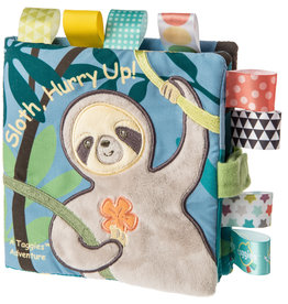 Mary Meyer Taggies Soft Book - Molasses Sloth