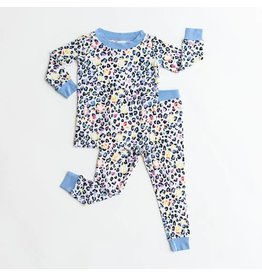 Little Sleepies Two Piece Pajama Set Leopard Love