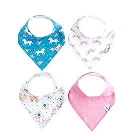 Copper Pearl Bibs - Whimsy Set - 4 pack