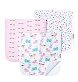 Copper Pearl Burp Cloths (3 pack) - Sassy