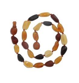Cherished Moments Baltic Amber Unpolished Beads - Multi, Small