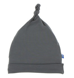 Kickee Pants Solid Knot Hat - Stone